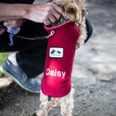 Personalised Dog Vest