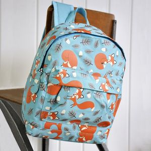 Rusty The Fox Mini Backpack - bags, purses & wallets