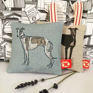 Whippet Or Greyhound Lavender Bags - decorative accessories