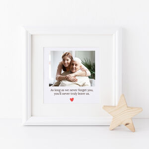 Personalised Memorial Photo Frame