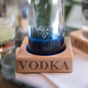 Vodka Bottle Stand