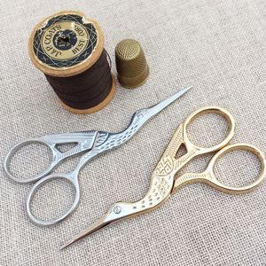 Stork Embroidery Scissors - creative kits & experiences