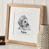 Personalised Pet Portrait Sketch - prints & art