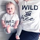 Mummy And Me 'Wild And Free' T Shirt Set