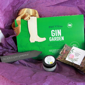 Gin Botanical Gift Box