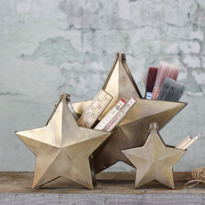 Brass Star Pot - kitchen