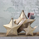 Brass Star Pot