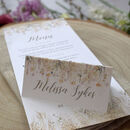 'Whimsical Autumn' Wedding Place Cards