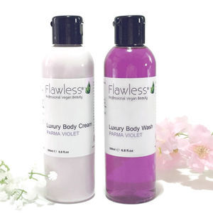 Parma Violet Luxury Body Cream And Body Wash