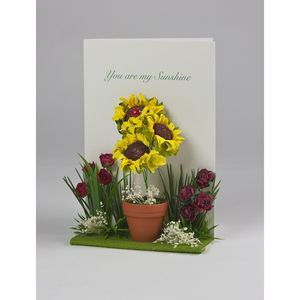 You Are My Sunshine Luxury Card