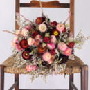 The Hoarwithy Dried Flower Posy
