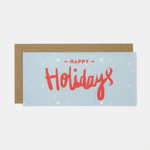 Happy Holidays Greeting Card - cards