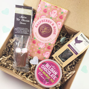 Chocolate And Treats Birthday Gift Box - new in food & drink