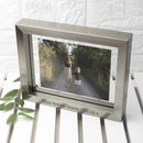 Personalised Silver Toned Photo Frame