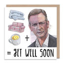 Jeremy Kyle Get Well Soon Card