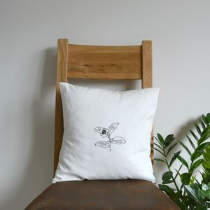 Tea Lover's Gift. Tea Plant Botanical Art - bedroom