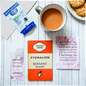 Vintage Book, Tea And Stationery Subscription Gift - gifts for her
