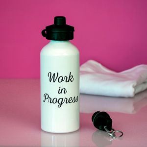 'Work In Progress' Water Bottle