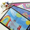 Diy Children's Art Placemats