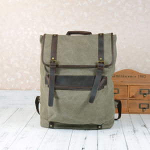 Extra Large Canvas Rucksack Gift For Him