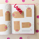 Family Activity And Memory Book In Hot Pink