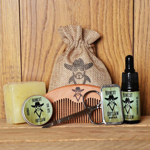 Mens Beard Grooming Kit - grooming gift sets
