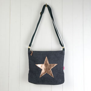 Star Messenger Bag - bags, purses & wallets