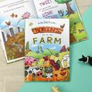 Personalised Day At The Farm Book