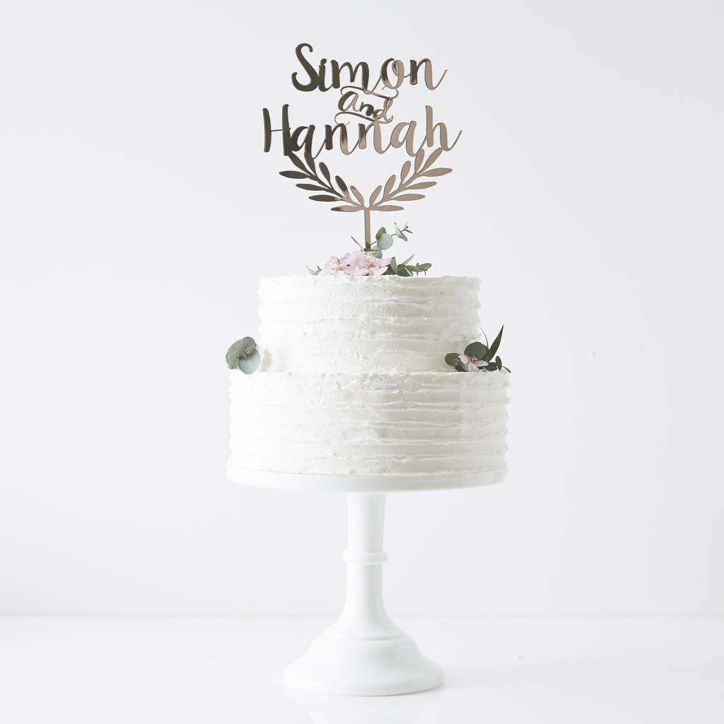 personalised grecian wedding cake topper by sophia victoria joy ...