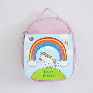 Personalised Unicorn Lunch Bag - lunch boxes & bags