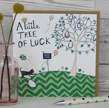 Tree Of Luck Card