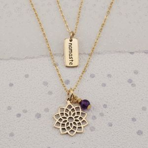 Crown Chakra Necklace In Gold Or Silver - jewellery