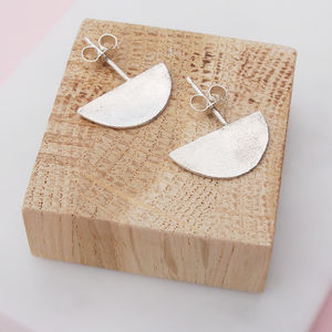 Half Moons Studs - earrings