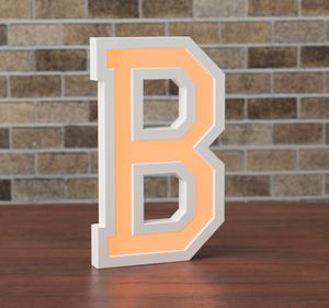 Marquee Letters LED Colour Changing Light - children's room