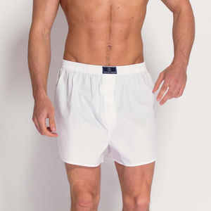 British Boxer Shorts In White - men's fashion