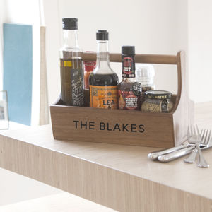 Personalised Condiment Holder - office & study