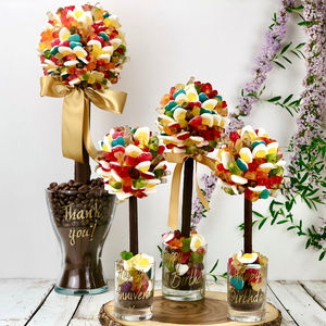 Personalised Haribo Edible Sweet Tree - summer sale
