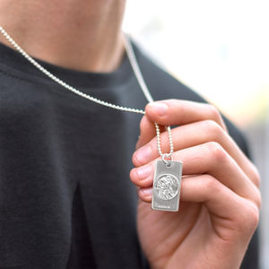 Mens St Christopher Necklace - gifts under £50