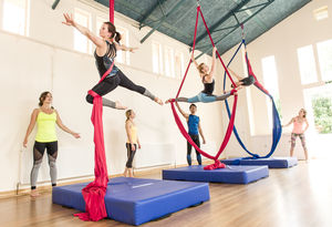 Aerial Silks Beginners Experience For One - gifts for her