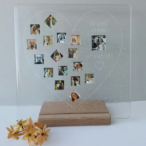 Personalised Love Photograph Display Frame - photography & portraits