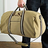 Personalised Canvas Holdall Bag - accessories