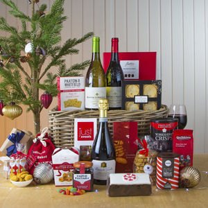 Christmas Treats Hamper With Prosecco