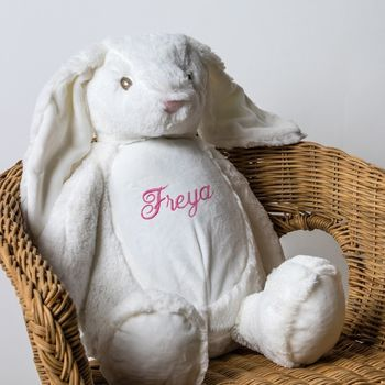 Personalised Soft Toy, Rabbit