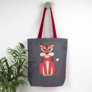 Tiger Animal Tote Bag