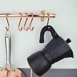 Quality Copper 'S' Hooks - kitchen
