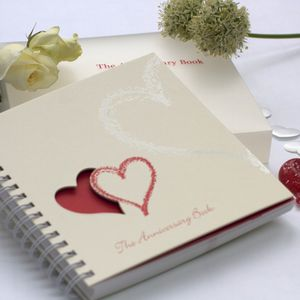 1st To 50th Wedding Anniversary Memory Book - 1st anniversary: paper
