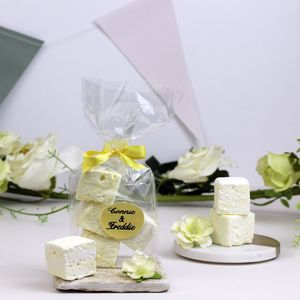 Personalised Gin And Tonic Marshmallow Wedding Favours - chocolates & confectionery