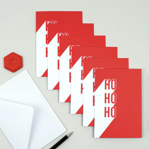 'Ho, Ho, Ho' Christmas Card Set