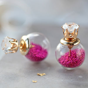 Bauble Two Way Earrings - earrings