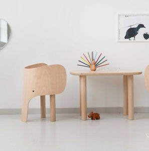 Elephant Chair And Table - baby's room